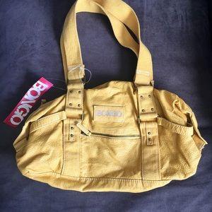 Yellow Bongo shoulder purse